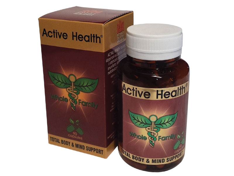 ACTIVE HEALTH - TOTAL BODY & MIND SUPPORT